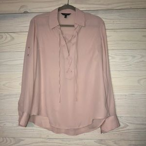 Express mauve rose pink blouse.